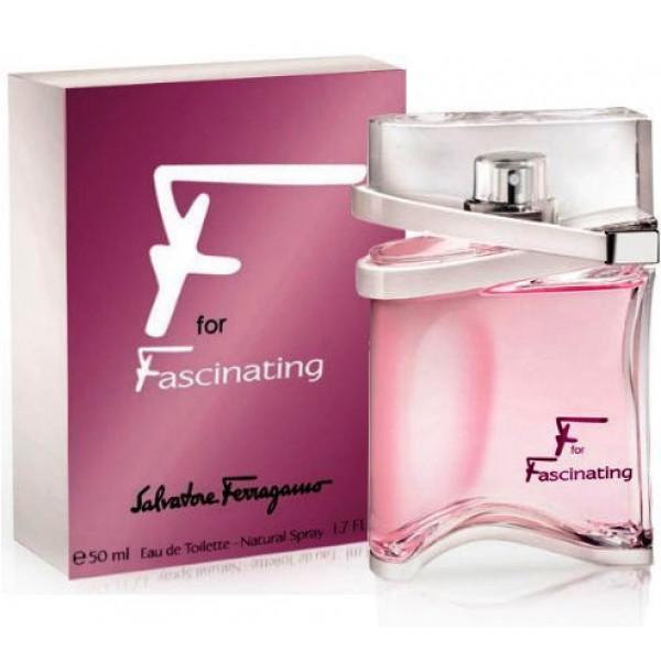 F For Fascinating By Salvatore Ferragamo