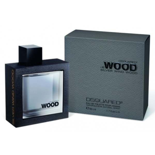 He Wood Silver Wind Wood by Dsquared2