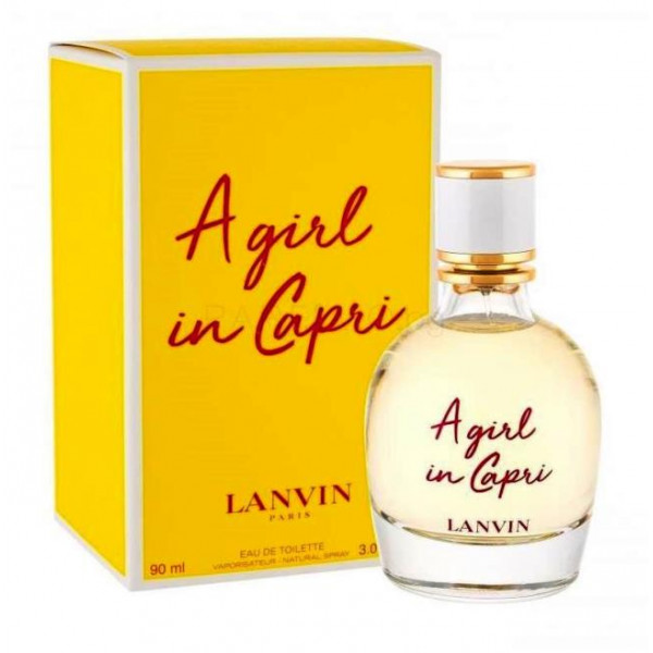 A Girl In Capri By Lanvin