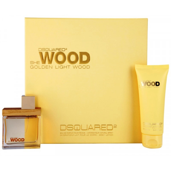 She Wood Golden Light Wood by Dsquared
